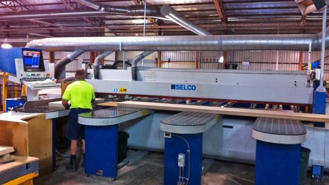 Flat panel CNC machining