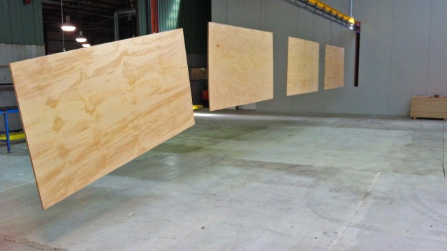 PLYWOOD ON THE LINE